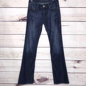Mavi Ashley Mid Rise Bootcut Jeans 28 x 34